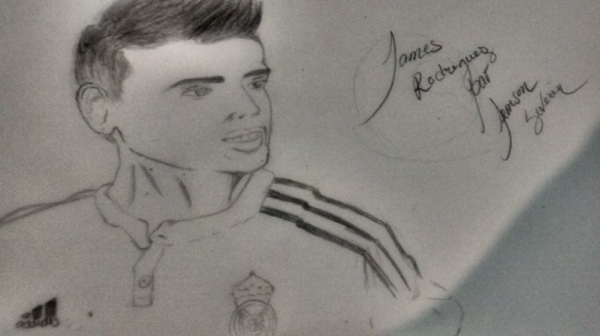 James Rodríguez by jemsbob